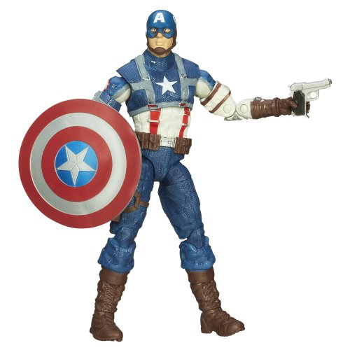 Captain America Marvel Legends WW2 Captain America Figure 6 Inches