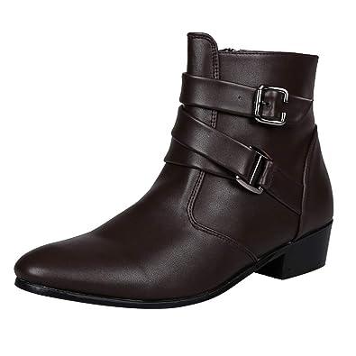 wholesale dealer 35512 806f1 EU39-EU46 ODRD Männer Schuhe Herren Stiefel Stiefeletten ...