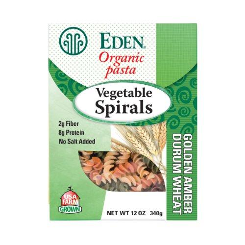Eden Organic - Eden Organic Vegetable Spirals, 12-Ounce Packages (Pack of 6)