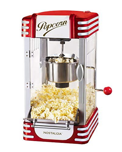 Nostalgia RKP630 Retro 2.5-Ounce Kettle Popcorn Maker (Popper Popcorn Machine)