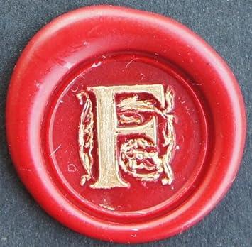Sceau de gravure sigillum w 1 barre de cire /à cacheter dans un coffret cadeau