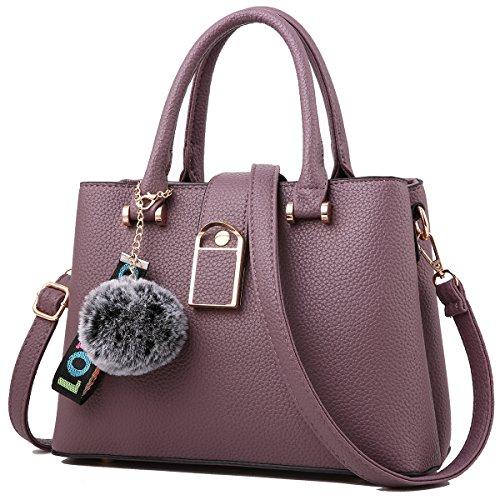 Purses and Handbags for Women Designer Shoulder Bags Ladies Tote Bags Top Handle Satchel Messenger Bags - Lady Purse Handbag