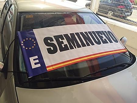 Parasol publicitario Seminuevo | Cartel seminuevo ...