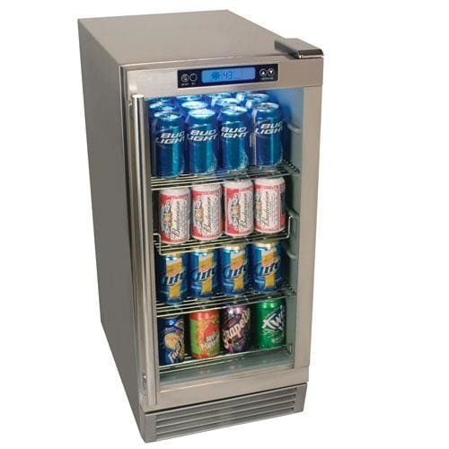 Edgestar OBR900SS Outdoor Beverage Refrigerator 84 Can St...