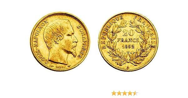 20 Franken Napoleon, 20 Francs Napoleon, moneda de oro, moneda de ...