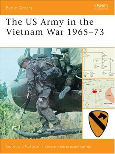 Battle Orders 33: The US Army in the Vietnam War 1965-73 (Battle Orders) by Gordon Rottman (10-Apr-2008) Paperback (Of Battle Order Vietnam)