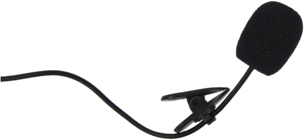 Haudang 3.5 mm Computer Clip-on Microphone
