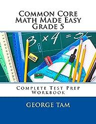 Common Core Math Made Easy, Grade 5
