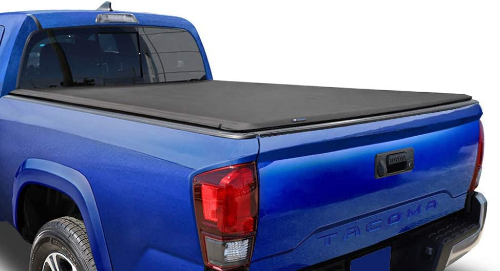 Amazon Com Tyger Auto T1 Soft Roll Up Truck Bed Tonneau Cover For 2016 2020 Toyota Tacoma Fleetside 5 Bed Tg Bc1t9044 Automotive