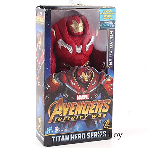 Hulkbuster with box -Type1639 Titan Hero Series Avengers Infinity War Thanos Iron Spider Captain America Black Panther Iron Man Hulk Hulkbuster Figure Toys - Super Hero Figures for Boys