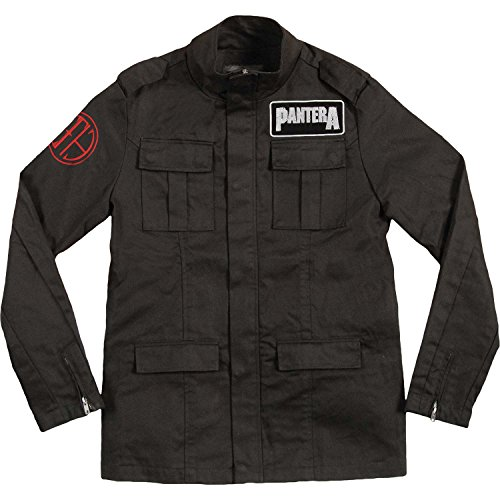 Pantera - CFH Logo Cut N Sew Adult Military Jacket - Medium by Pantera