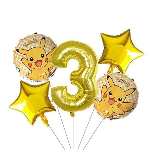 LIUUWO Balloon 5 unids/Lote 30 Pulgadas Globo de Dibujos ...