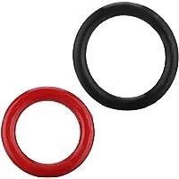 2pcs 91345-RDA-A01 Power Steering Pump O-Ring, Durable 1370-SV4-000 O Shaped Seal Ring, for Car Power Steering Pump O…