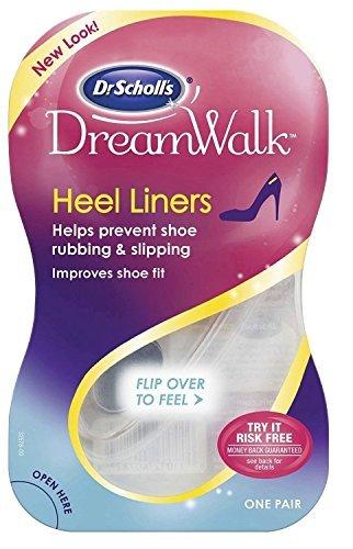 k Heel Liners, 1 Pair (Pack of 3) (Dr Scholls Liner)