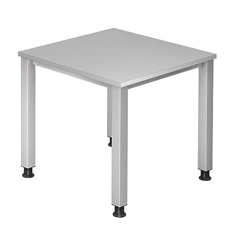 Dr de oficina escritorio 80 x 80 cm – Altura regulable 68 – 83 cm ...