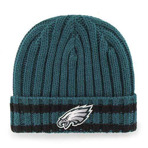 (NFL Philadelphia Eagles Bure OTS Cuff Knit Cap, Pacific Green, One Size)