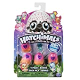 Toys : Hatchimals CollEGGtibles  4-Pack + Bonus, Season 4 Hatchimals CollEGGtible, for Ages 5 and Up (Styles and Colors May Vary)