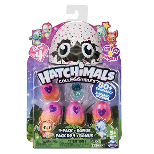 Hatchimals CollEGGtibles are top toys for girls age 6 to 8