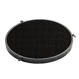 PhotoSEL High Performance Reflector with 2 Honeycomb Grid Set, 65 Degree, 10-Inch, Bowens S-Type Mount, Studio Lighting Flash Light, FRH65BH