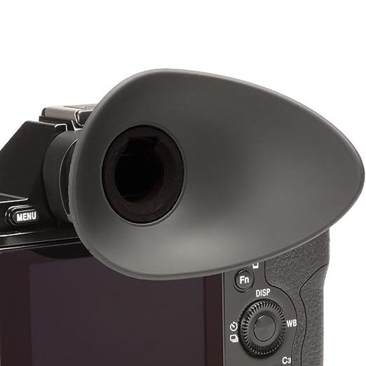 compatible con Sony a7, a7II, a7S, a7S II, a7R, a7R II, a58, /α99II Visor ocular para usuarios con gafas JJC ES-A7G