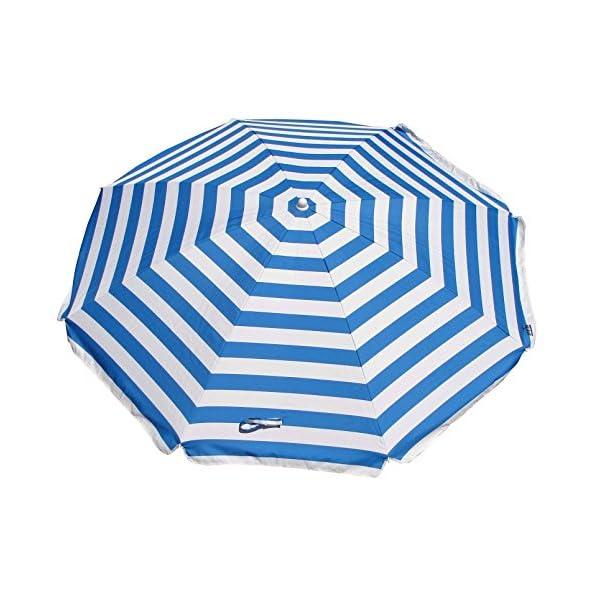 Shelta Australia Shelta Noosa - Ombrello da spiaggia, a righe, colore: Blu e Bianco 1 spesavip