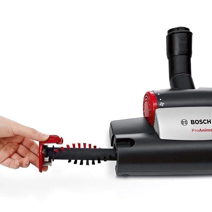 Bosch BGL4ZOOO - Aspirador con bolsa, máxima recogida de pelo de animales, kit de accesorios Animal 360, color rojo