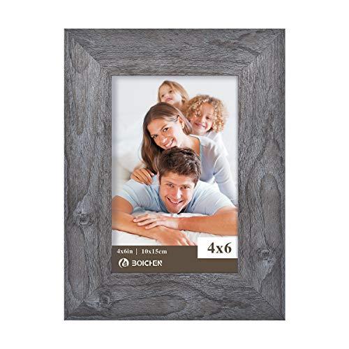 Boichen 4X6 Picture Frame 1 Pack Rustic ()
