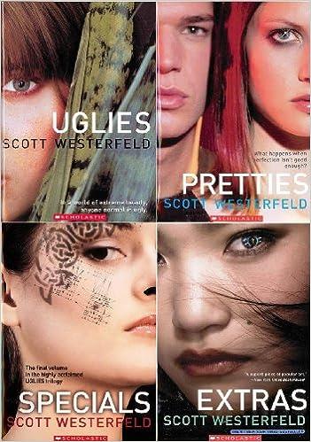 Specials 4 Book Pack Uglies Pretties Specials Extras