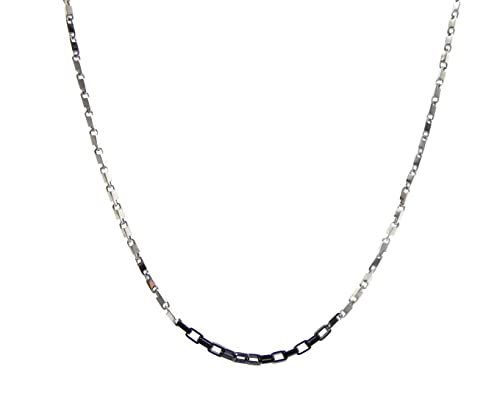 Nuovi Prodotti 9ca11 df9b2 Gioielli MOOBY collana girocollo uomo acciao catena sottile ...