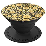 Orange Flower Plant - PopSockets Grip and Stand for Phones and Tablets