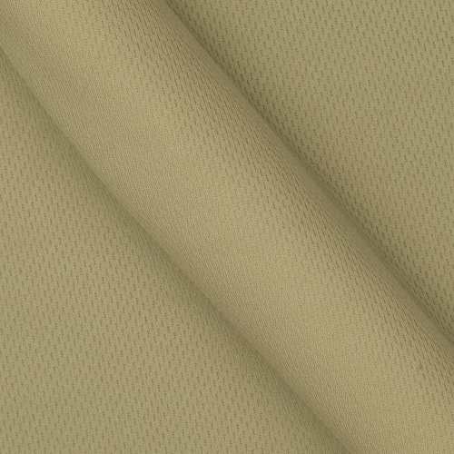 (Textile Creations 0269441 Athletic Mesh Knit Tan Fabric by the Yard)