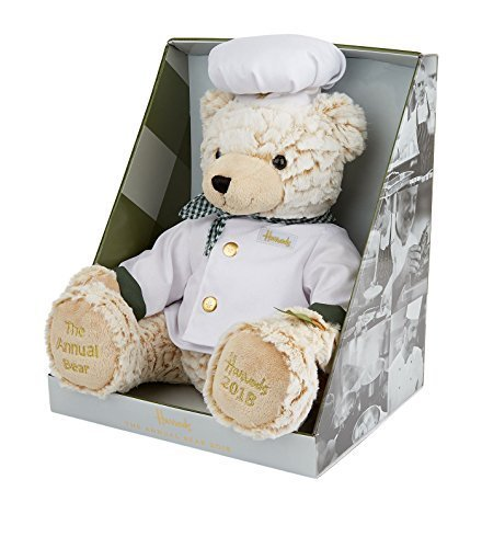 Harrods (Harrods) teddy bear Annual Bear Chef (Winnie The Pooh Outfit For Adults)
