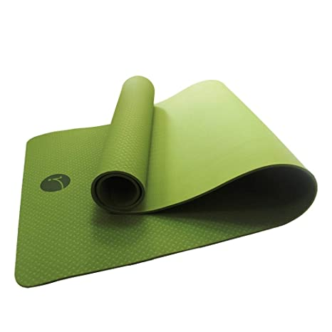 Yogamigi Esterilla ecológica para Yoga, Pilates, Deporte. Material TPE reciclable, Antideslizante. Facil de Limpiar. No tóxico. Ideal para Viajes y ...