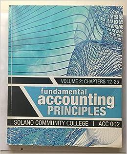 fundamental accounting principles volume 2