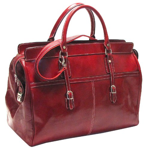 Floto Luggage Italian Casiana Tote, Tuscan Red, Large