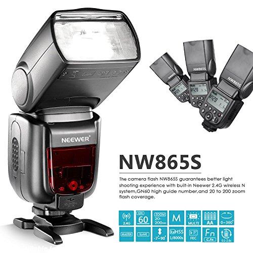 Neewer GN60 2 4G Manual HSS Master Slave Flash Speedlite for