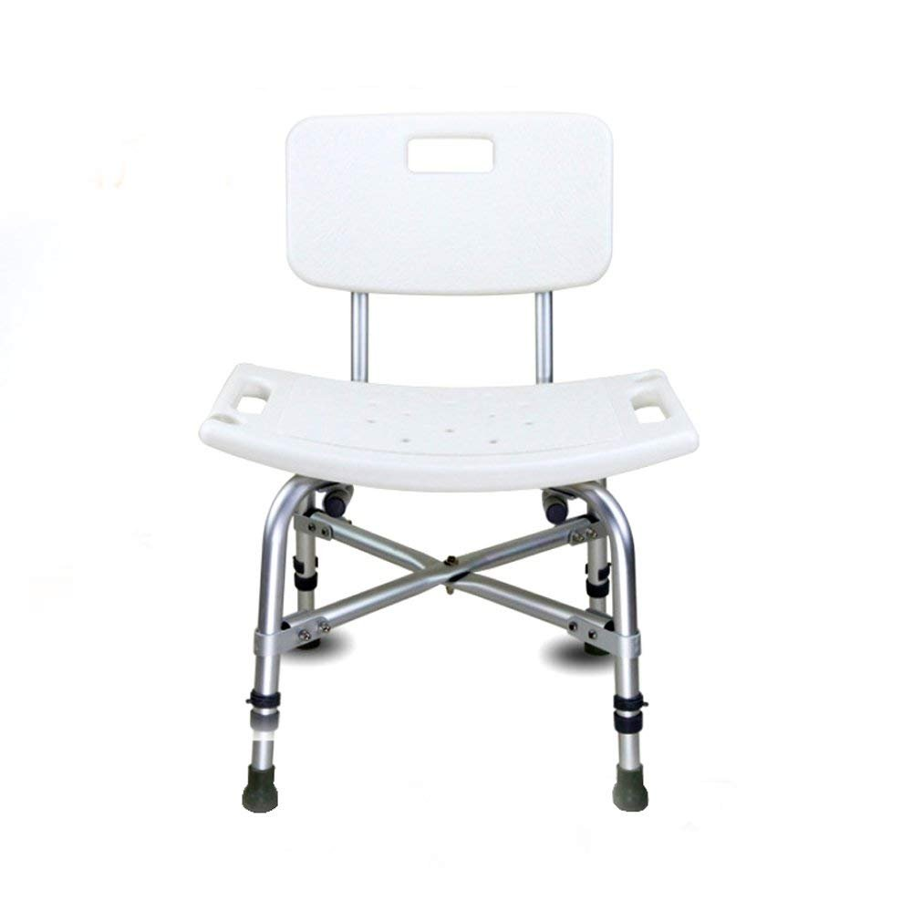 Active Authority Reinforced Sturdy Shower Bath Chair, Aluminum Alloy Skidproof, Support up to 400lbs by Active Authority