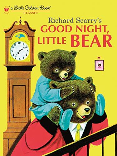 Good Night, Little Bear (Little Golden (Learning Toys Catalog)