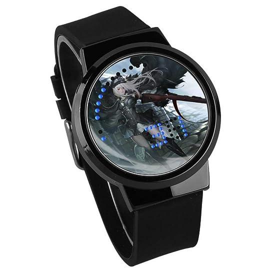 Relojes De Pulsera,Reloj De Moda Personalizado con Pantalla Táctil Led Reloj De Pulsera Personalizado De Dibujos Animados Periféricos De Frontline para ...