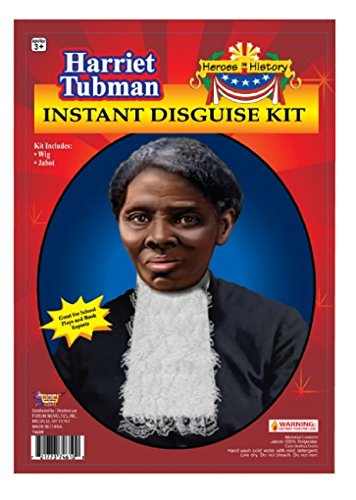 Child Heroes in History Instant Disguise Kit - Harriet Tubman - Wig and (Harriet Tubman Costumes)