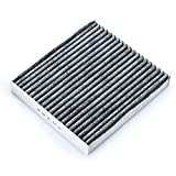 Mr.Ho MH285 Fresh Breeze Car Cabin Air Filter with Activated Carbon for Land Rover/Lexus/Pontiac/Toyota/Subaru/Scion,Against Dust Viruses Allergens Gases Odors
