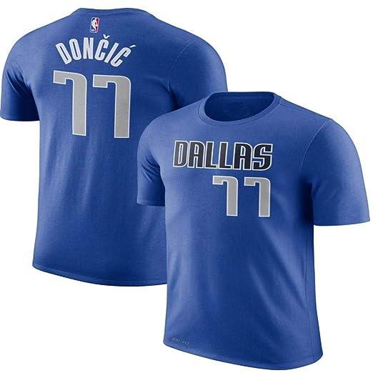Camiseta De NBA De Los Fanáticos De Los Dallas Mavericks Luka ...