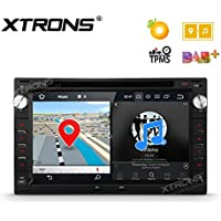 XTRONS 7 Android 8.0 Octa Core 4G RAM 32G ROM HD Digital Multi-touch Screen OBD2 DVR Car Stereo DVD Player Tire Pressure Monitoring OBD2 for VW Volkswagen SEAT SKODA