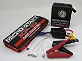 Emergency Road Side KIT - Antigravity Batteries MICRO START XP-10 Battery Jump Starter, Charger - Back Up Power Supply w/ Mobile Tire Inflator - Charges PHONE & LAPTOP - FULL ANTIGRAVITY WARRANTY