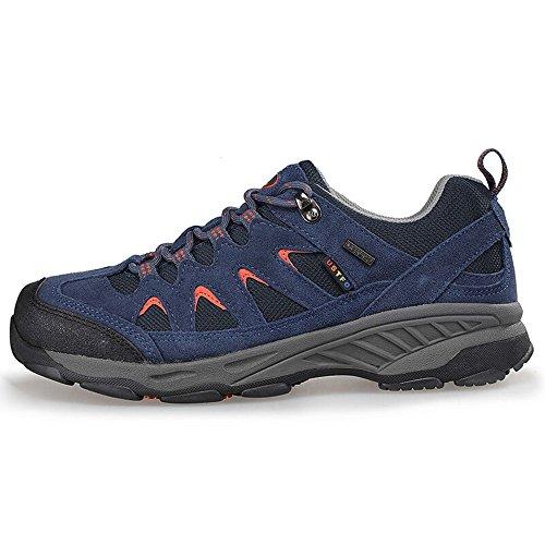 De Eerste Outdoor Heren Ademende Wandelschoen Trail Sneaker Klimberg Outdoor Sportschoenen Blauw