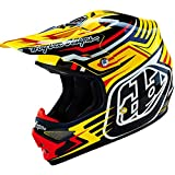 Troy Lee Designs Air Scratch Helmet - Yellow/Large