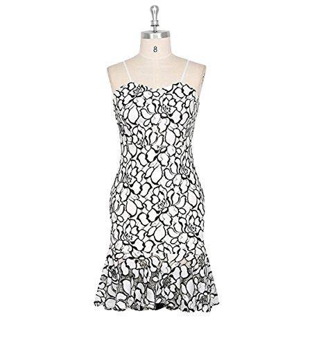 U8Vision - Vestido - Noche - para mujer Weiß