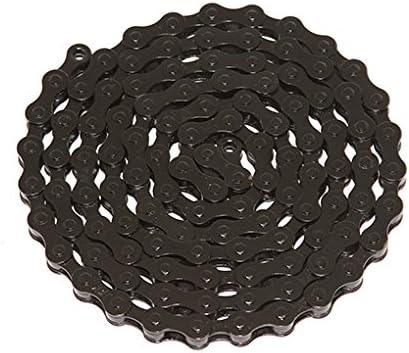 "Black Single Speed Fixie Bicycle Chain YBN 1//2x1//8/"" 112 Schwinn Cruiser Bike BMX"