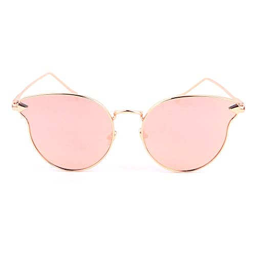 Smileyes TSGL025 2017 Colección Nueva Gafas de Sol Con AC Lente UV400 Coloradas Grandes Modernas Ele...