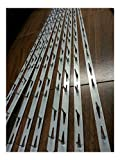8 pieces Tacking Metal Tack Strips 30' Long ( Made In U.S.A. )